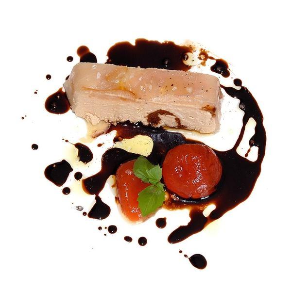 Paté di sgombro con salsa al vino cotto