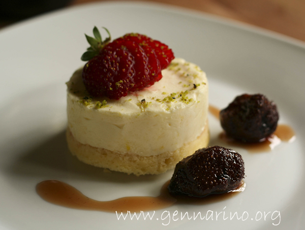 Mousse al lemon curd