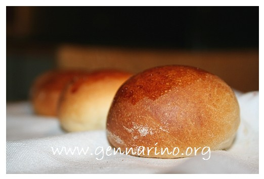 Formatura dei panini tondi