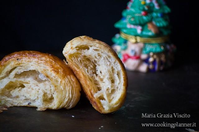 Croissant integrali (con grano saraceno) di L. Di Carlo