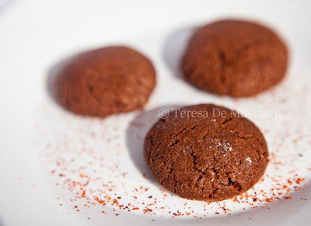 Mexican hot chocolate cakes, di Marta Stewart.