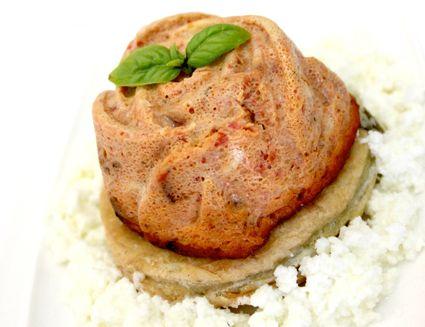 Budini pomodoro basilico e mozzarella
