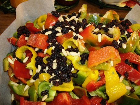 La ricetta dei peperoni gratinati alla siciliana