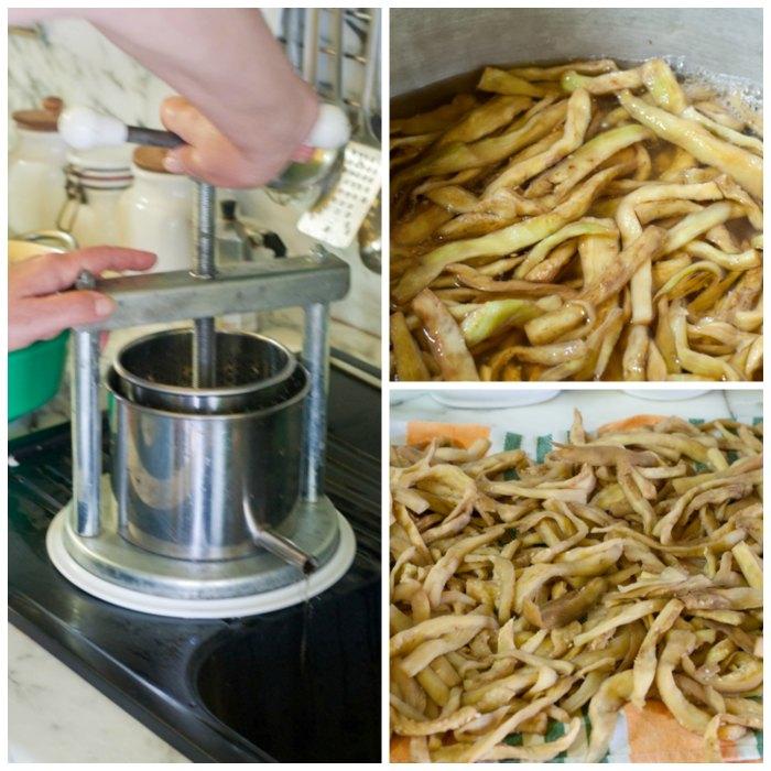 La ricetta delle melanzane sott'olio
