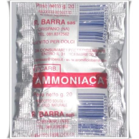 differenze tra ammoniaca e lievito per dolci