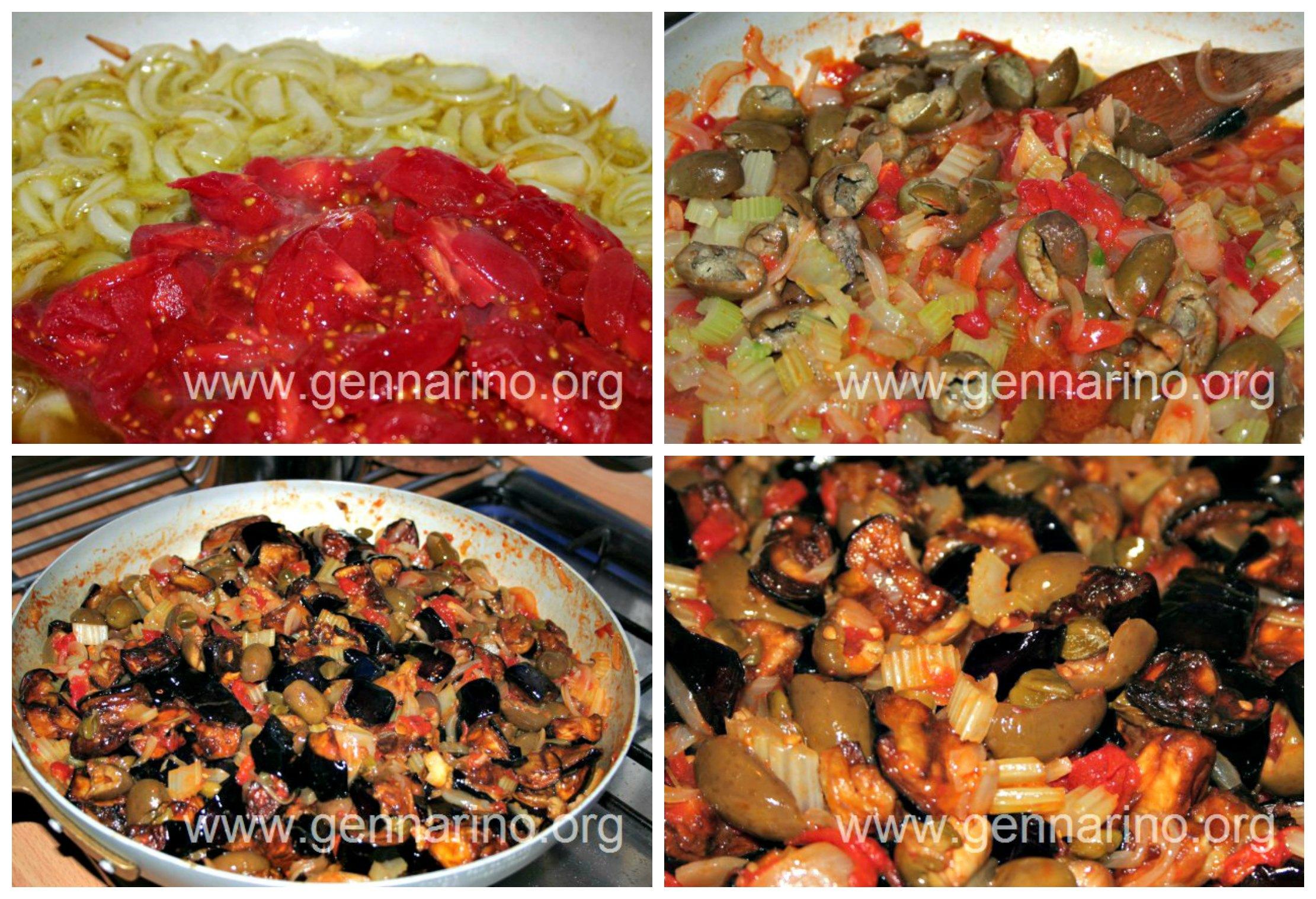 la ricetta della caponata siciliana