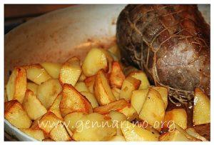Patate arrosto perfette, grazie alla sbianchitura