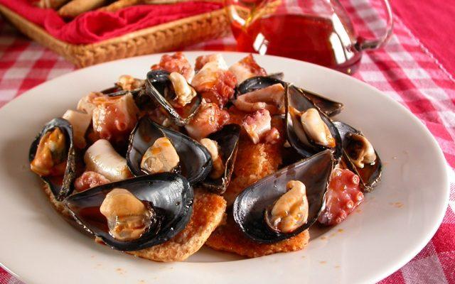 La ricetta della Zuppa di cozze napoletana di Antonia