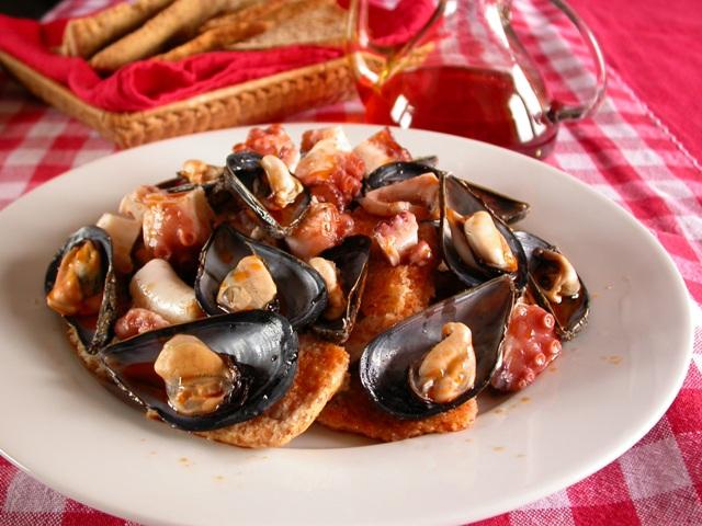 ricetta della Zuppa di cozze napoletana