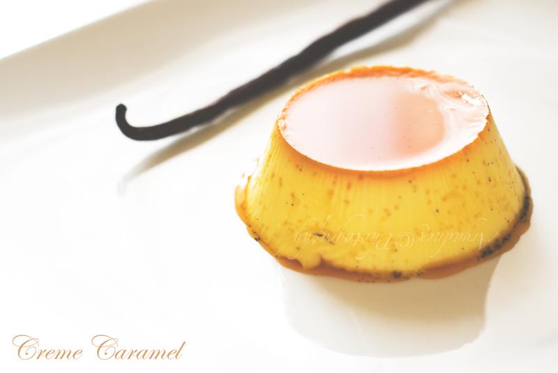 la ricetta del creme caramel