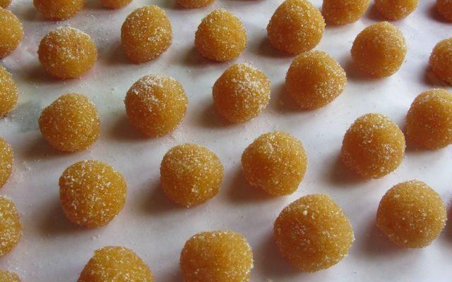 palline di scorza di arancia