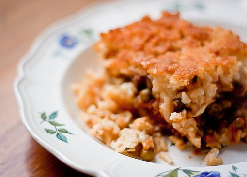 sartu di riso napoletano