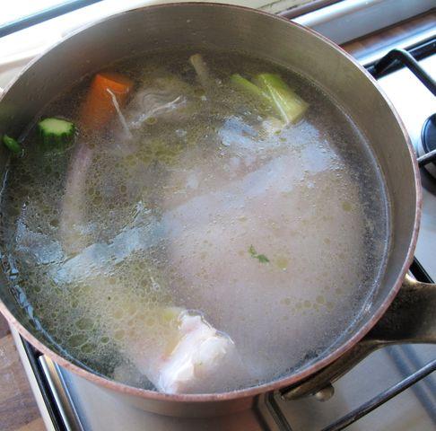 Preparare una base per piatti di pesce