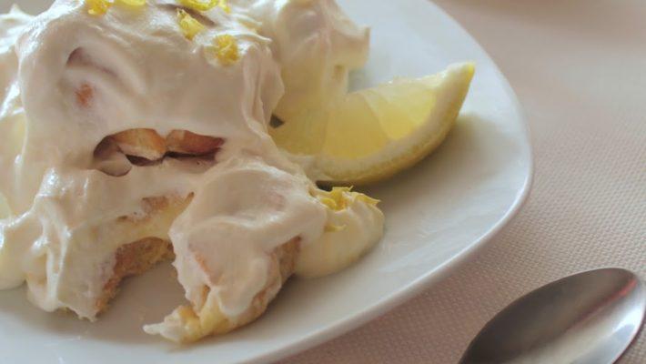 Profiteroles al limone di Sorrento