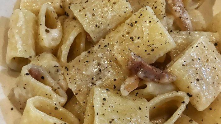 La ricetta della pasta alla Gricia