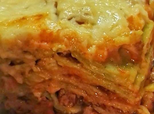 La ricetta delle lasagne al ragù e besciamella di Claudia