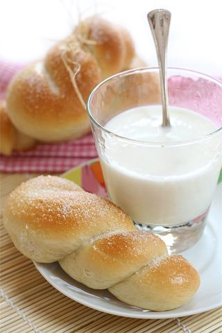 brioche siciliane con lo zucchero