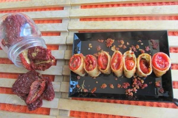 Mezzi paccheri ai due pomodori