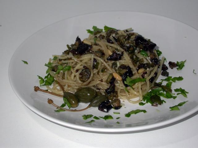 La ricetta degli spaghetti allo scammaro