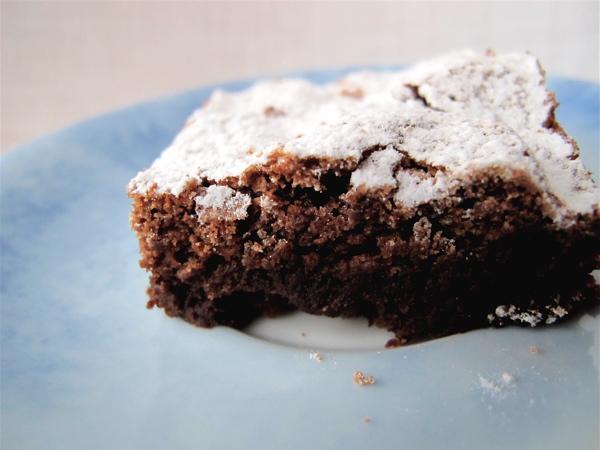La Torta Tenerina al cioccolato