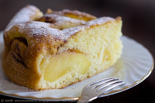La ricetta della Torta di mele affondate