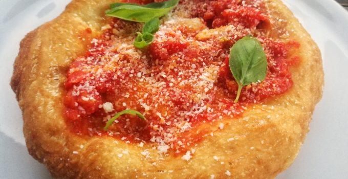 ricetta della pizza fritta